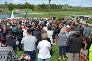 Hundreds gather to Never Forget the events of 9/11