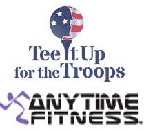 Anytime Fitness & Tee It Up for the Troops Partnership