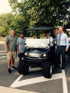 Cart Donation Walter Reed 2015-2