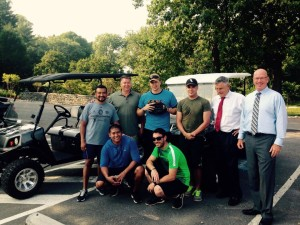 Cart Donation Walter Reed 2015